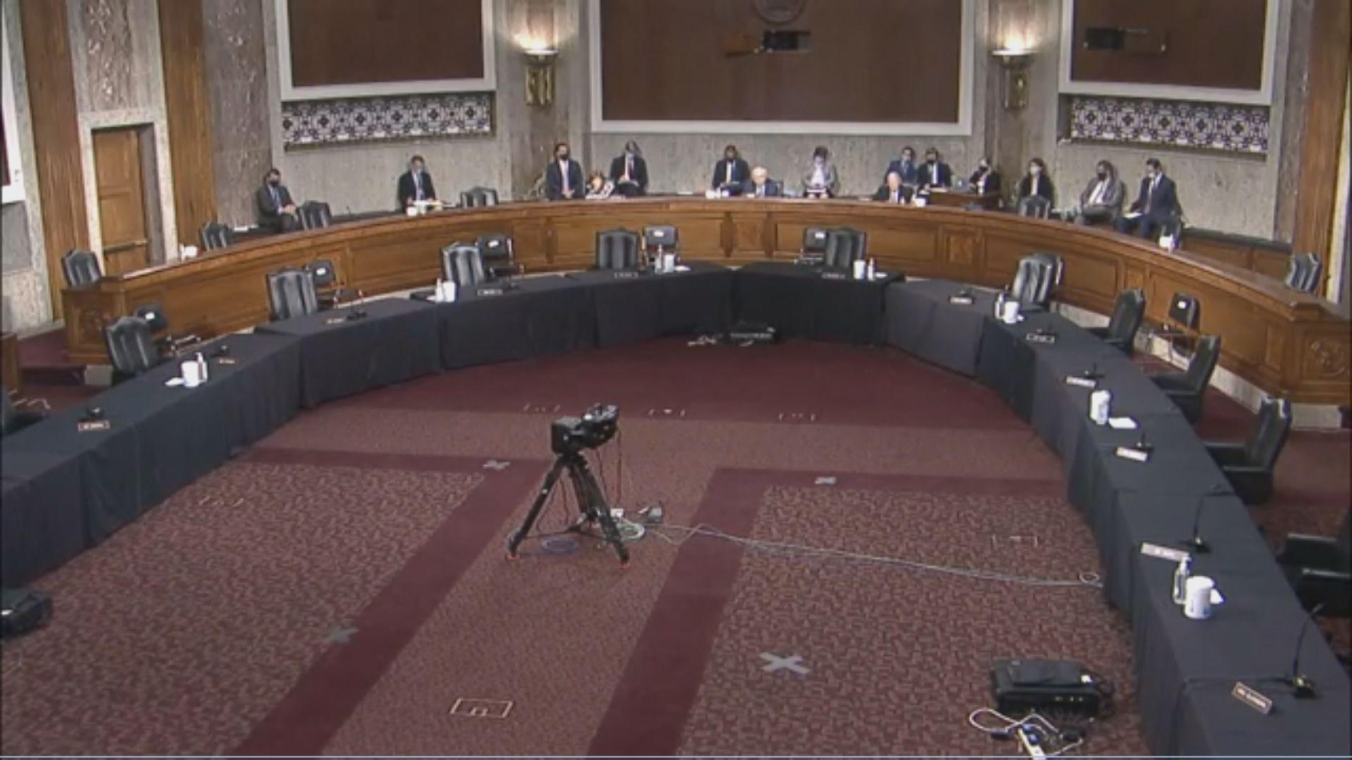 美參議院討論對台政策 外交部促美方認識台獨危險性