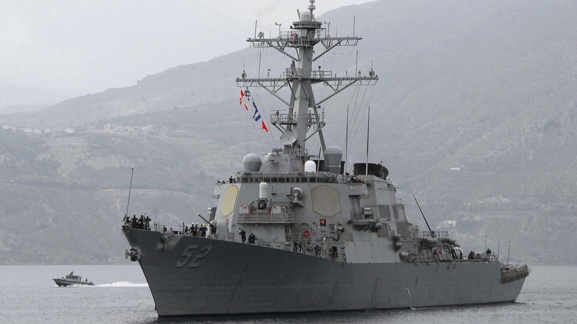 美軍驅逐艦周五通過台海餐 為本年第九次