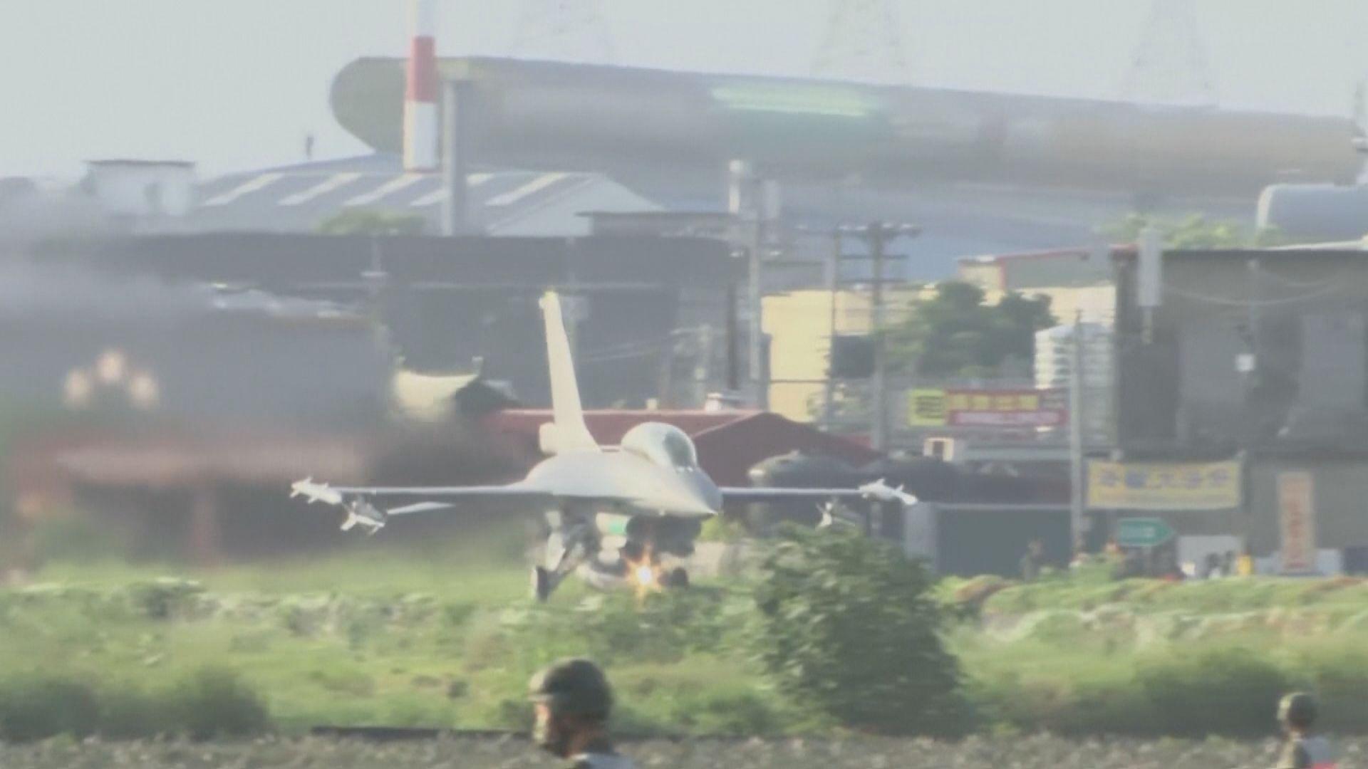 美國傳媒指美台當局討論提前交付F-16戰機