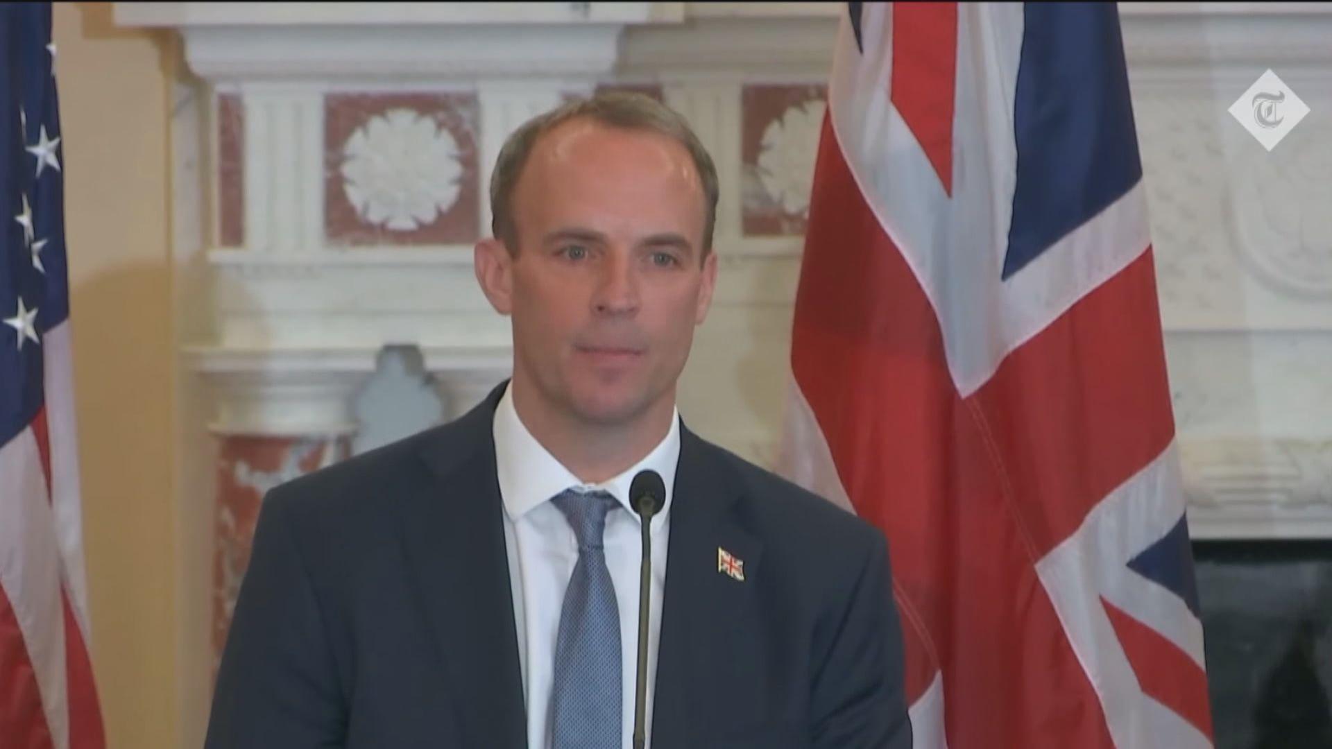 英美外長會面 藍韜文指中國須全面尊重香港自治
