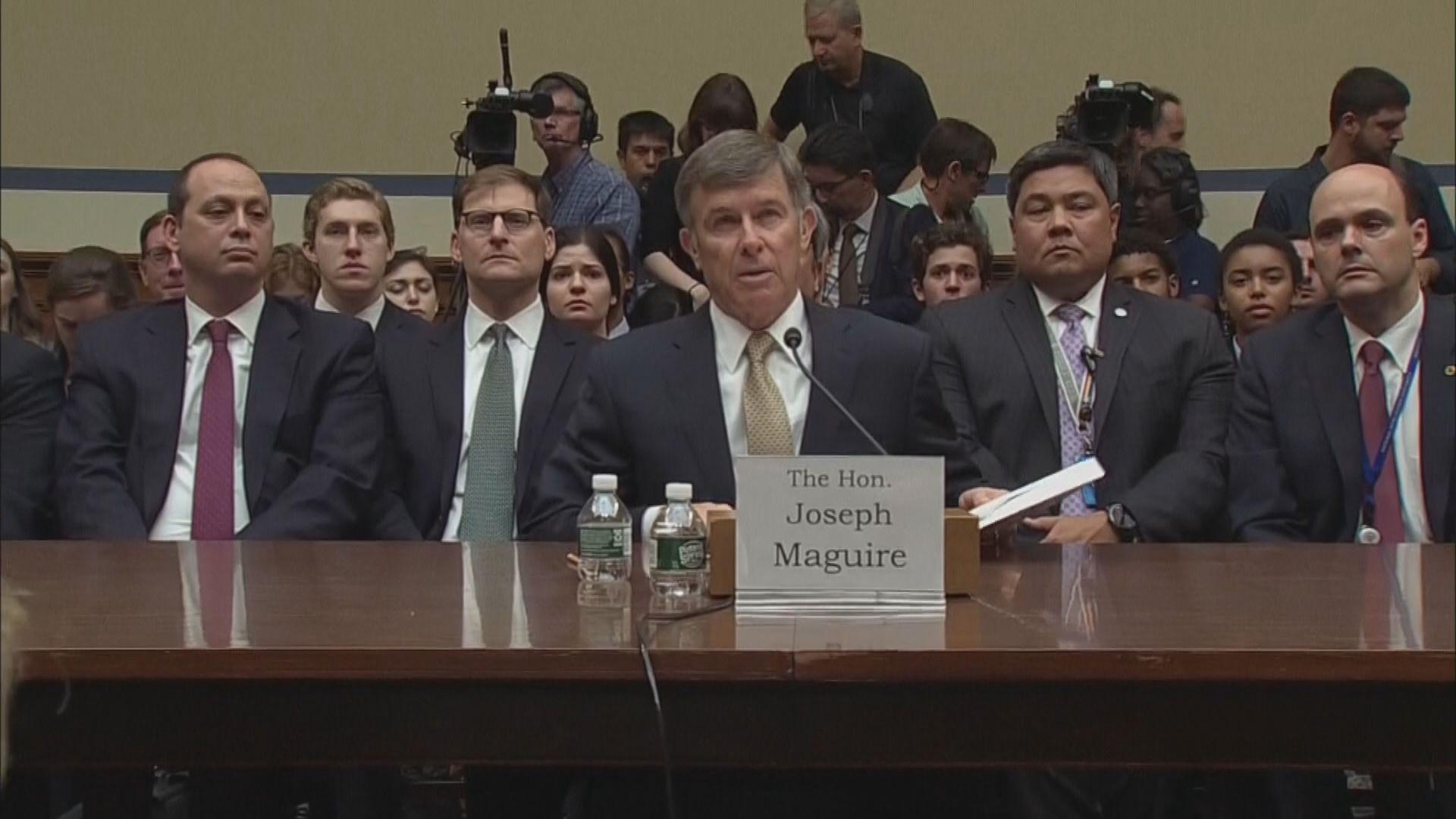美國國家情報總監形容匿名投訴情節嚴重