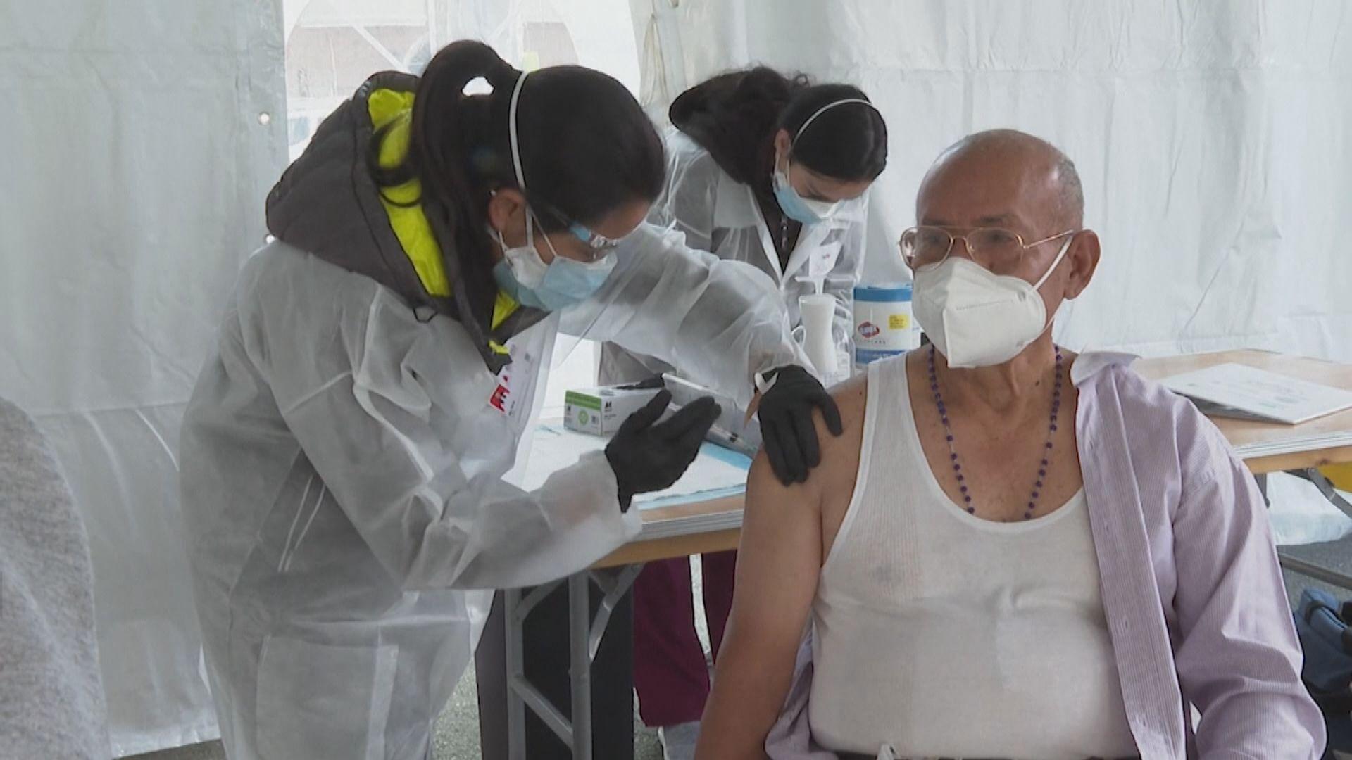 美國公布分享首批2500萬劑新冠疫苗詳情