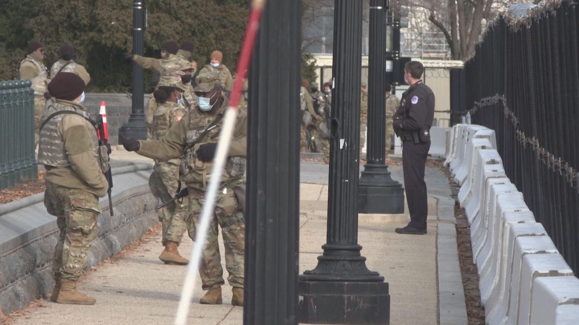 聯邦調查局審查派駐華府國民警衛軍成員