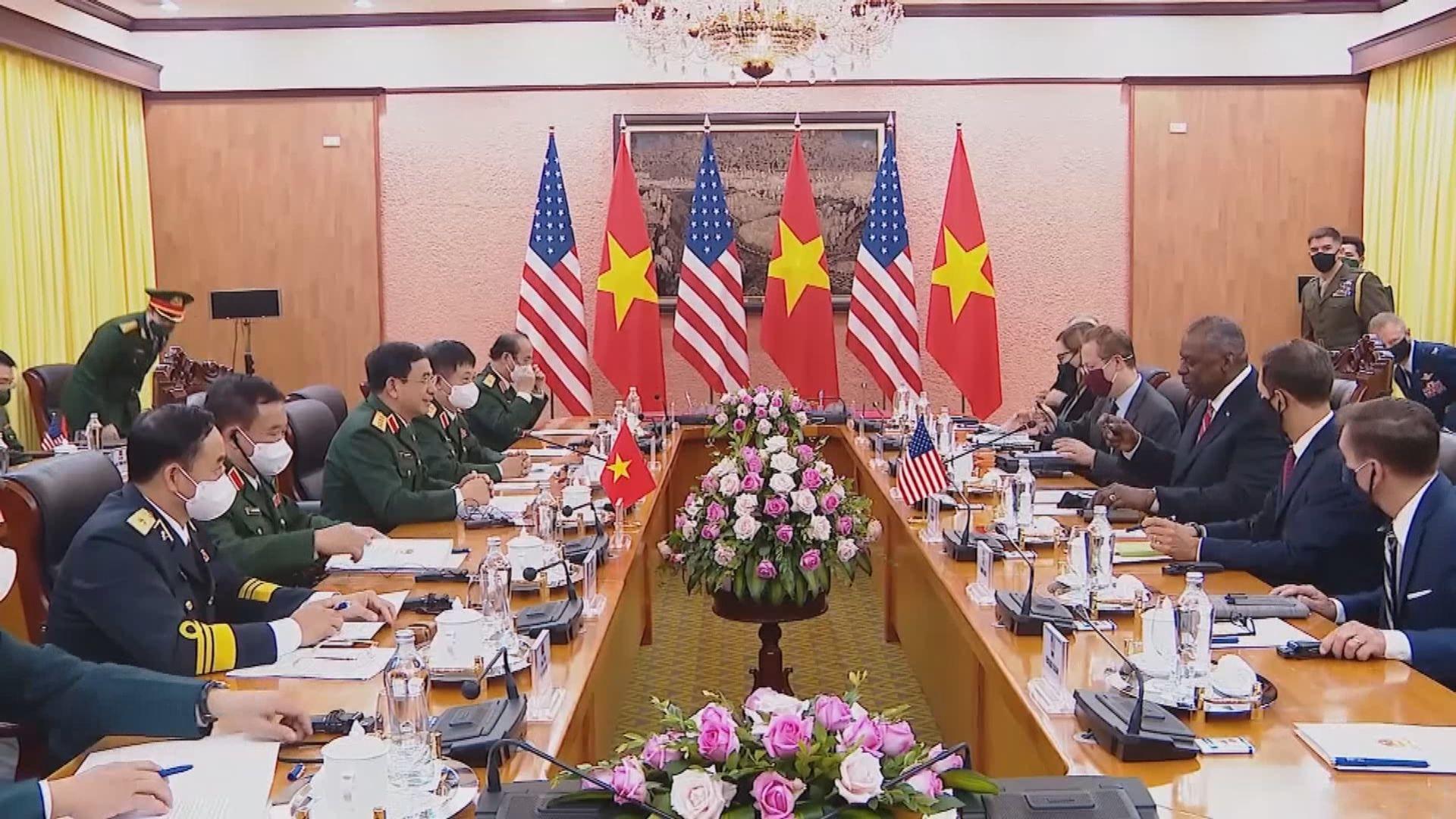 美越同意應按國際法和平解決南海爭端