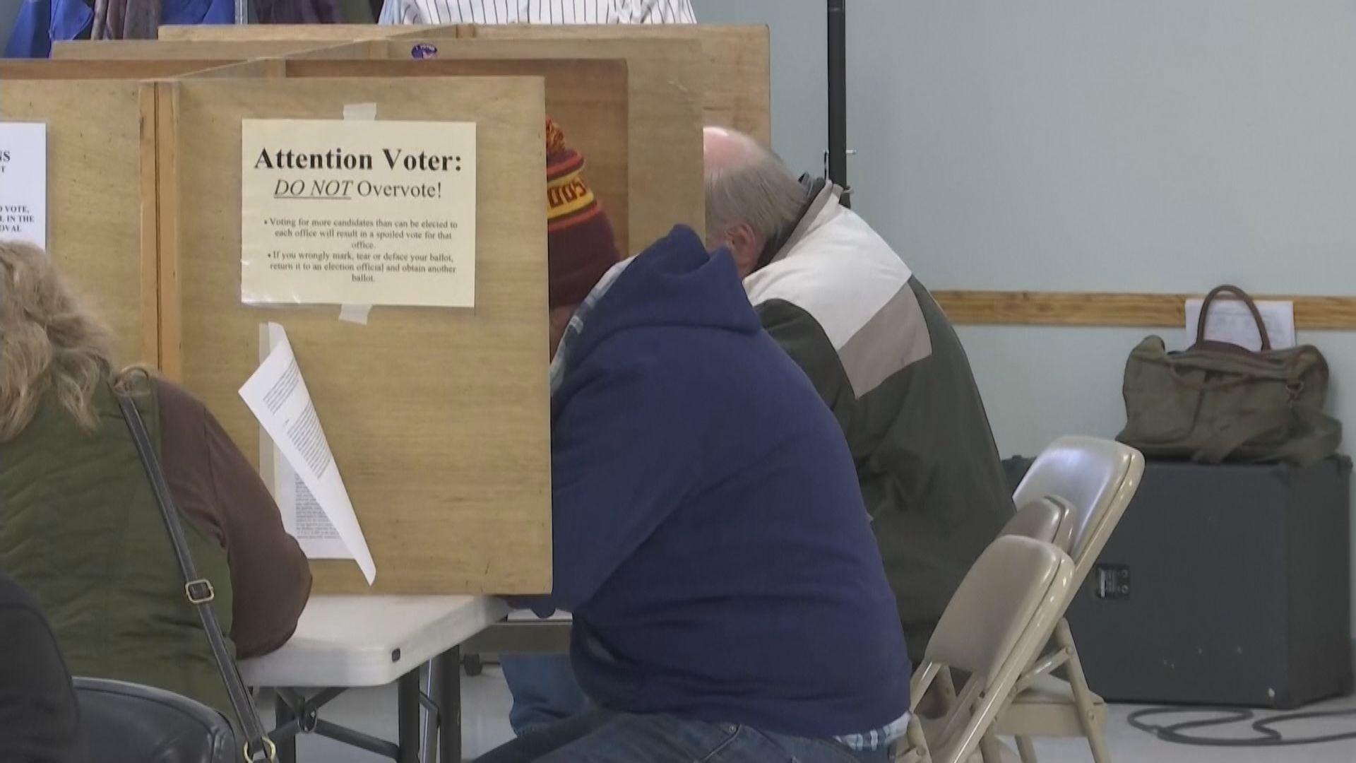 美國「超級星期二」總統提名初選陸續開始投票
