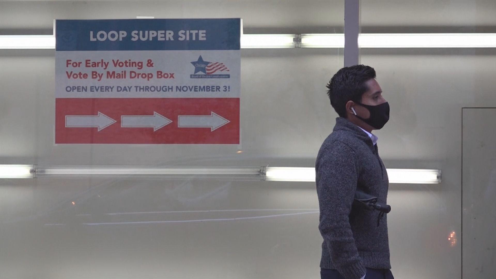 美國大選逾400萬人提前投票 為上屆同時段50倍
