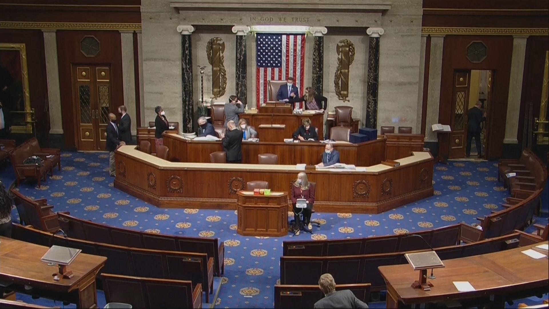 美眾議院通過向合資格國民派二千美元