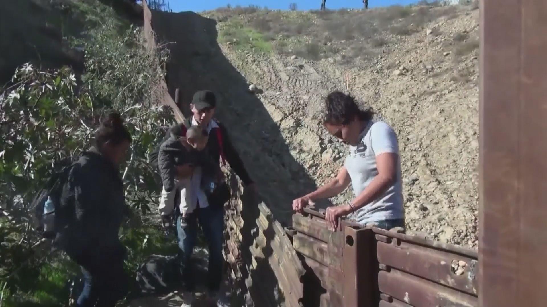 美墨邊界圍牆增建成效受質疑