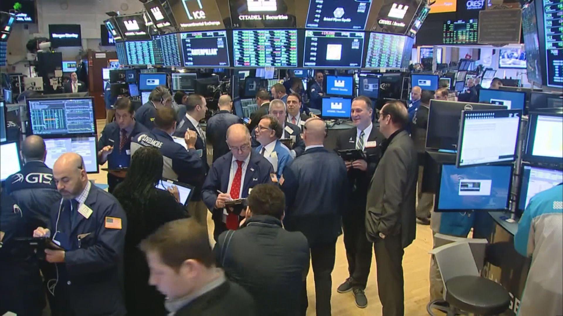 美股上升 受科技股造好帶動