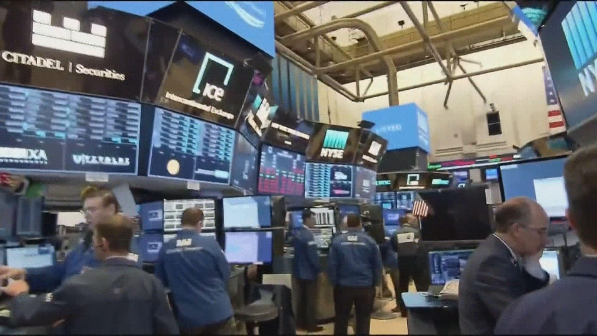 金融股大跌拖累道指及標指結束3連升