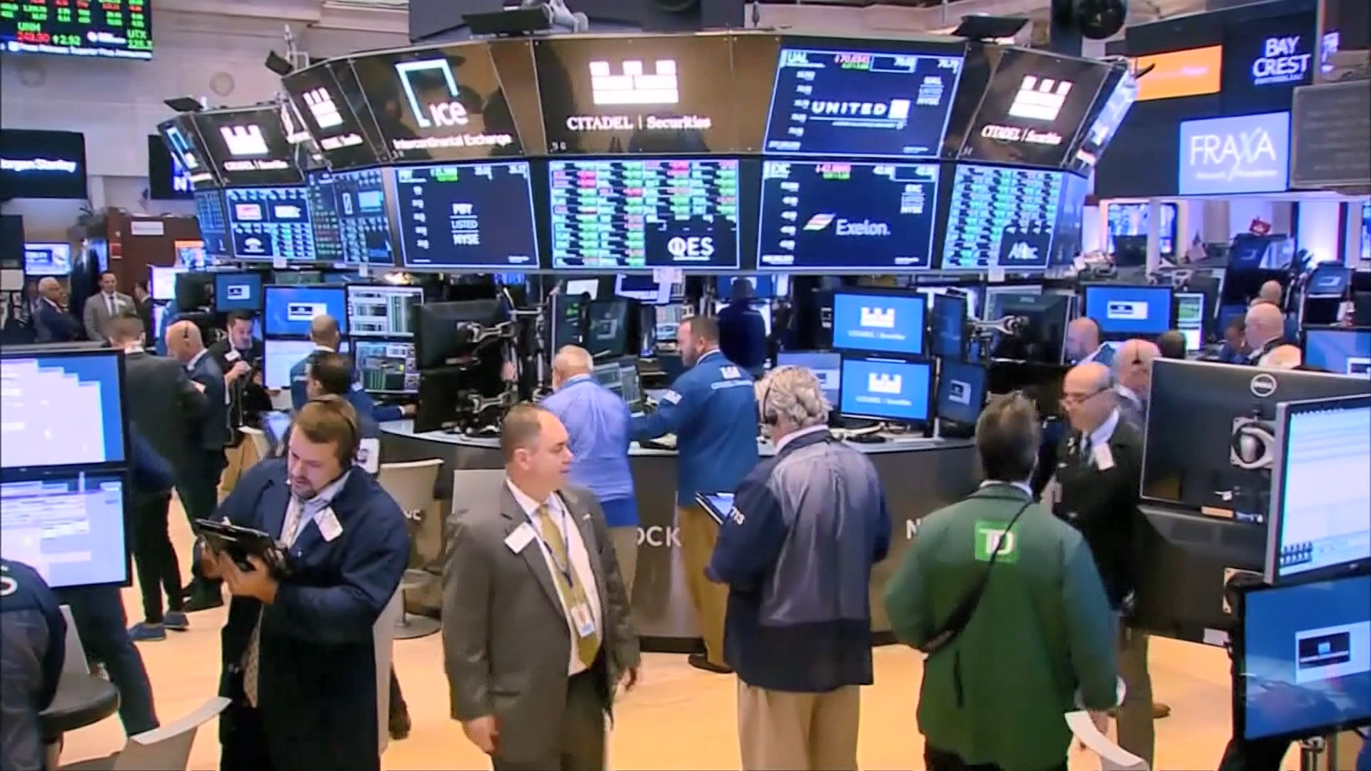 美股跌 因憂貿易戰惡化及美製造業數據弱