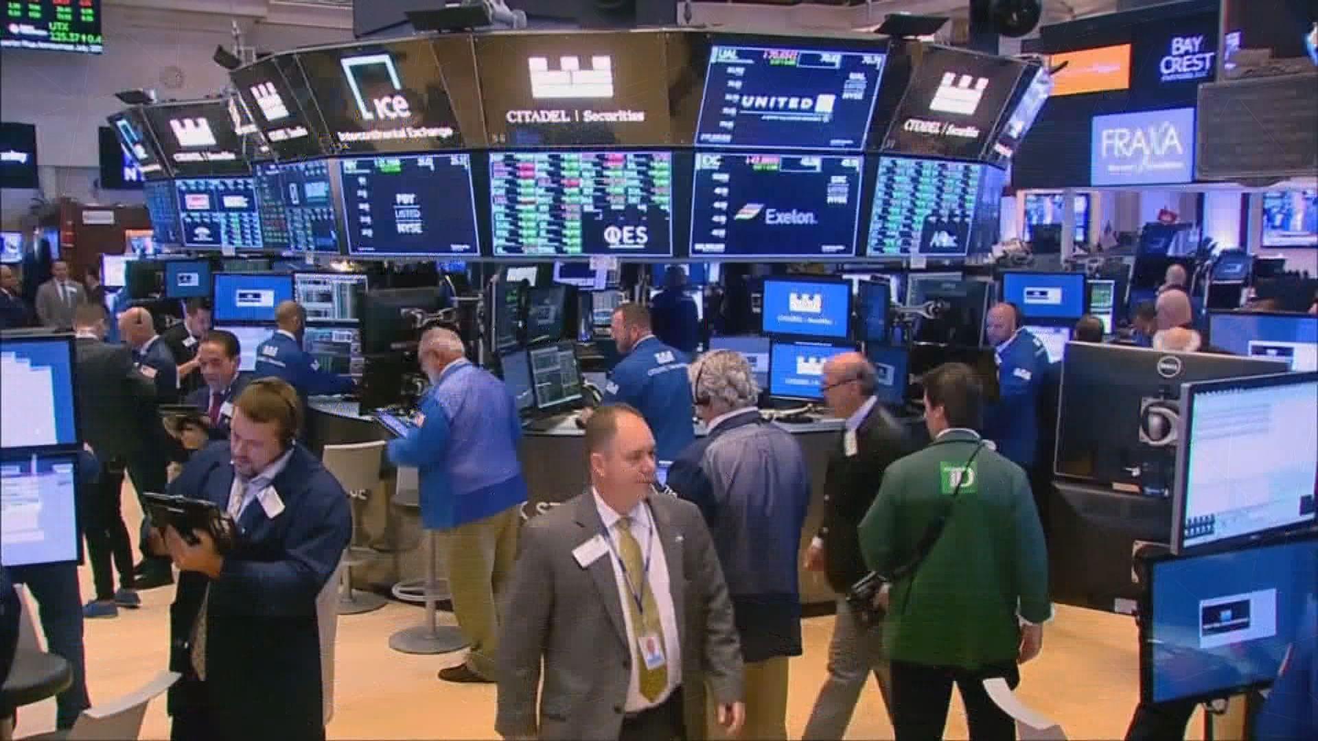 美股3大指數下跌 因投資者獲利回套