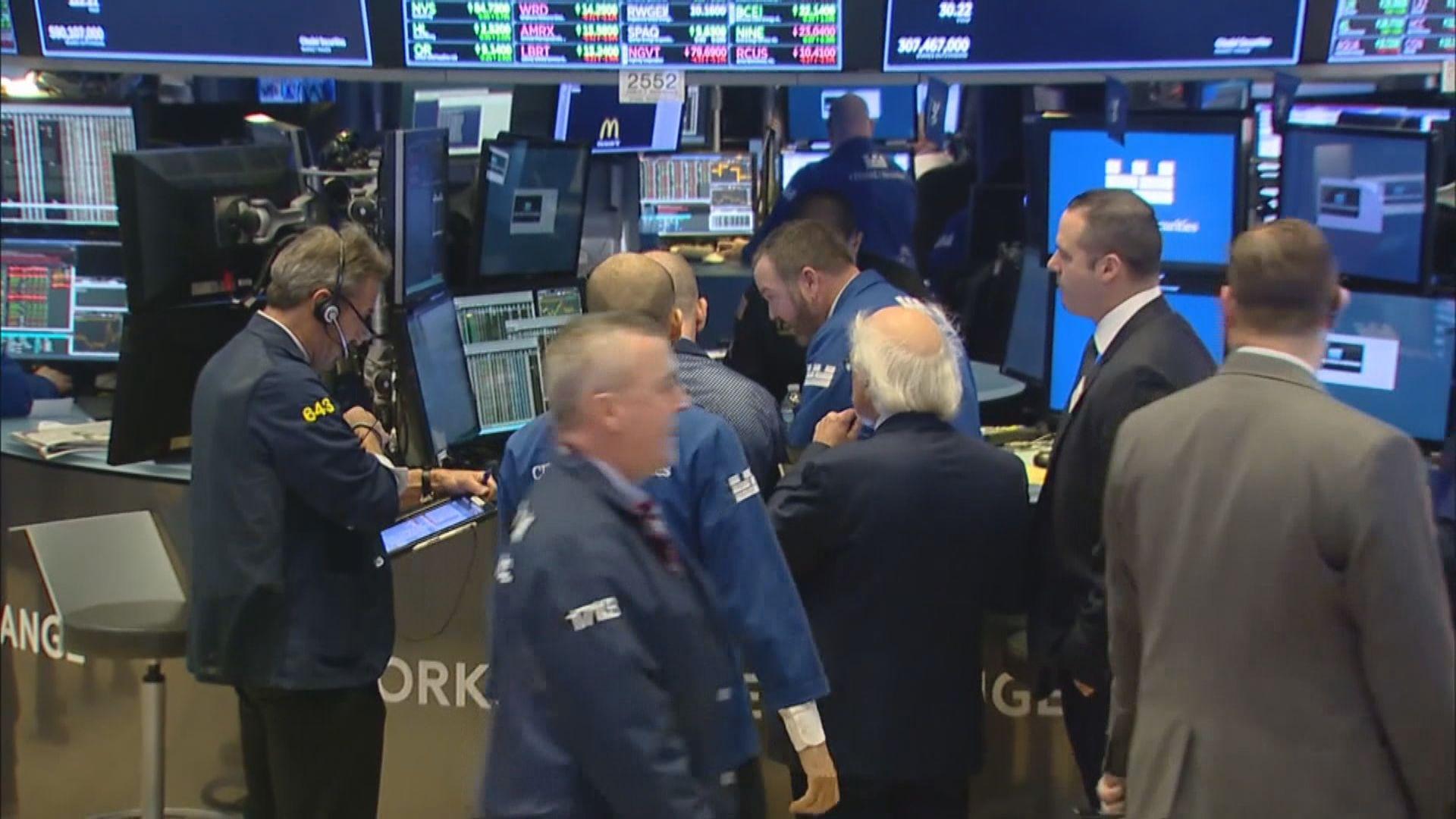 美股反覆低收 因疫情憂慮再度加劇