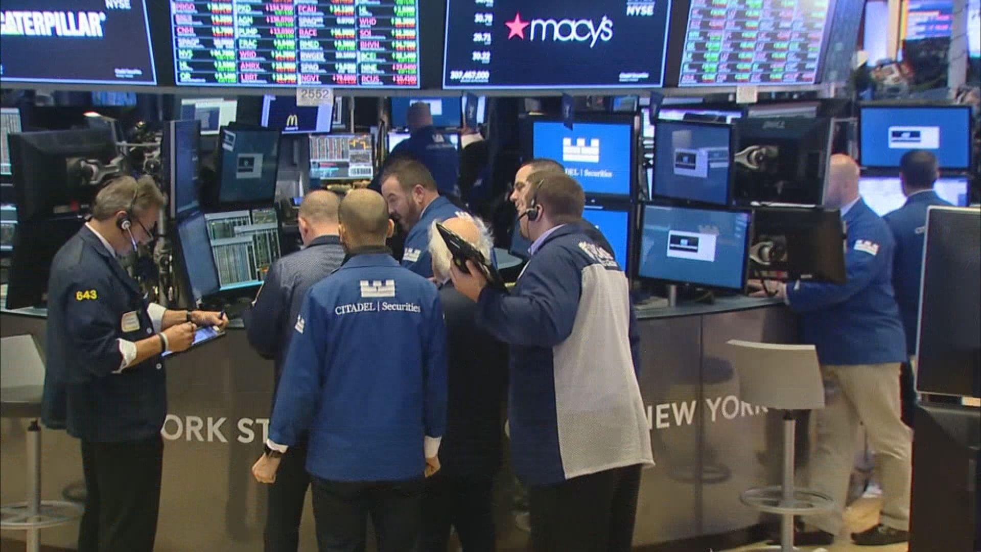 標指及納指高收 傳白宮研推措施鼓勵美國人買股票