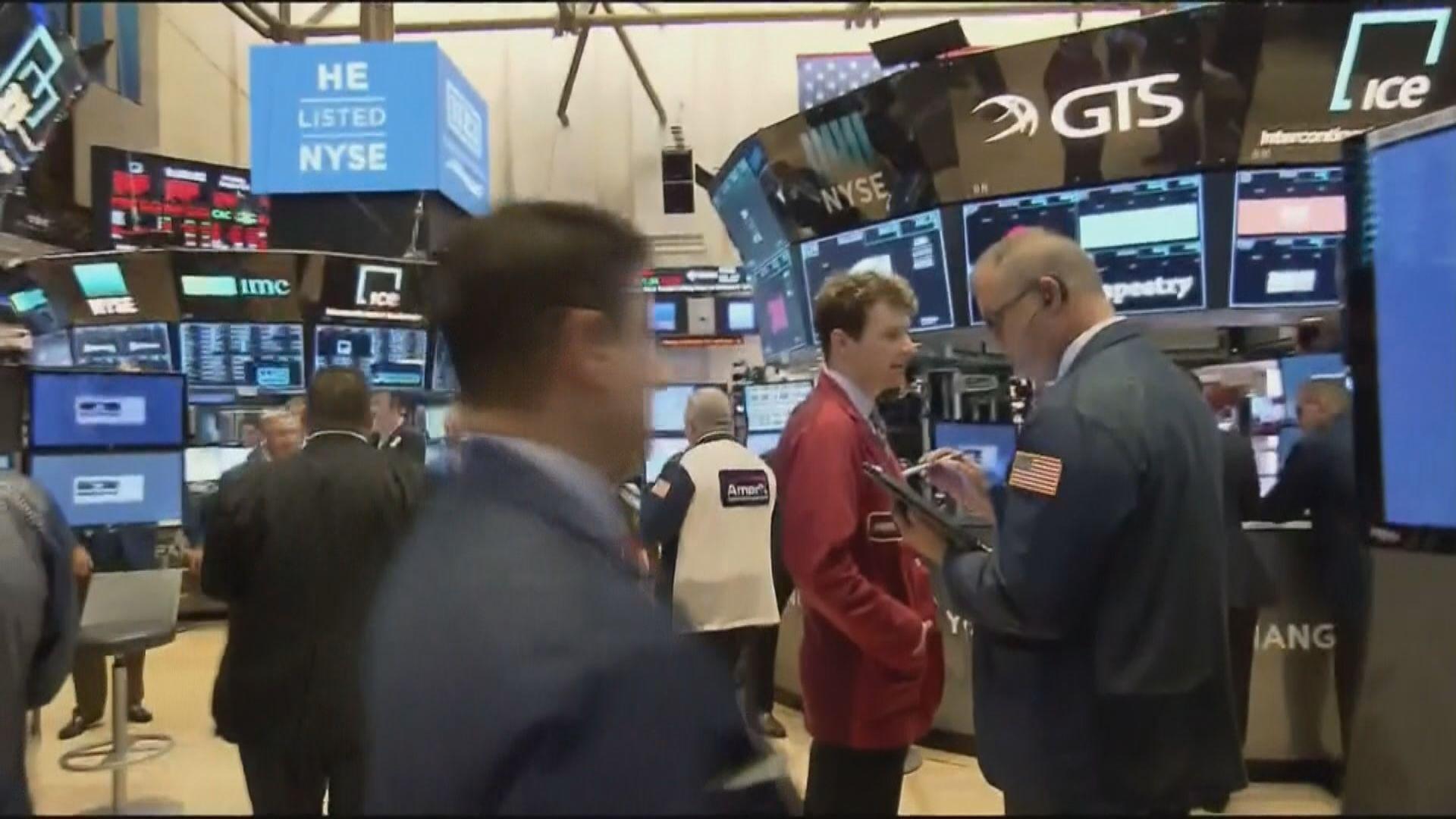 美股下挫約4% 因憂疫情打擊經濟及企業業績