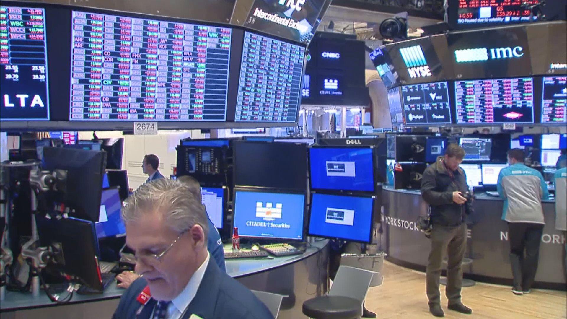 科技股破頂帶動美股持續上升