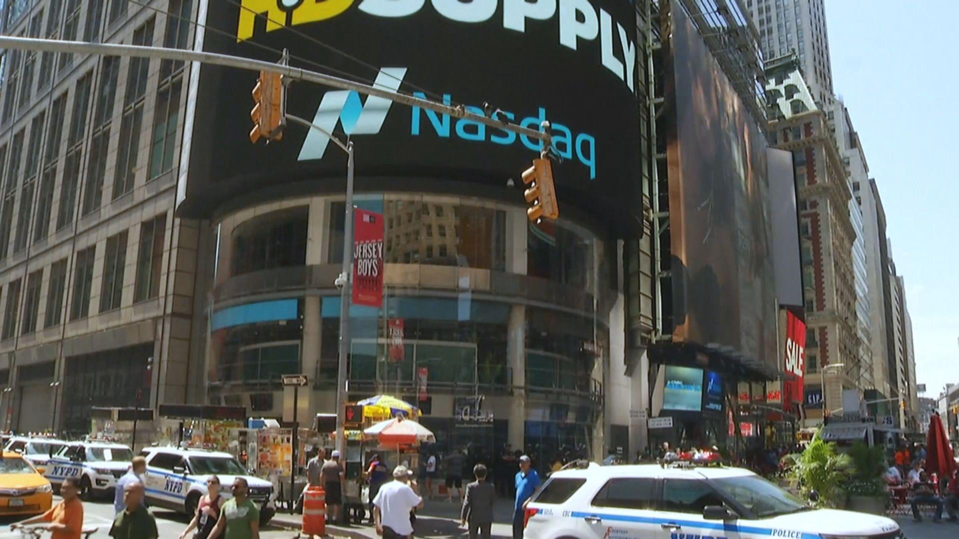 美股下挫 因科技股遭拋售及就業數據差