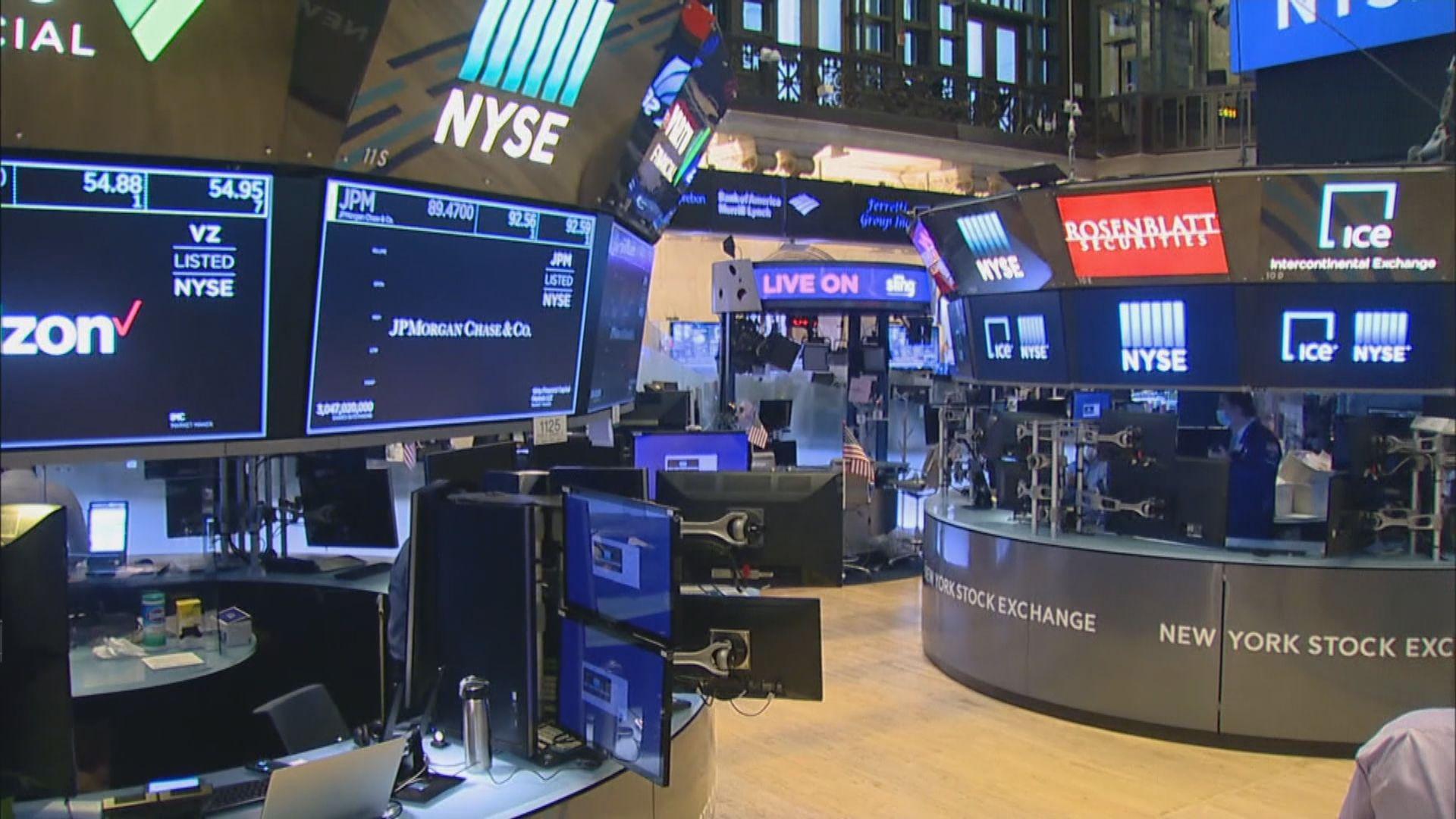 投資者觀望企業業績 美股早段反覆