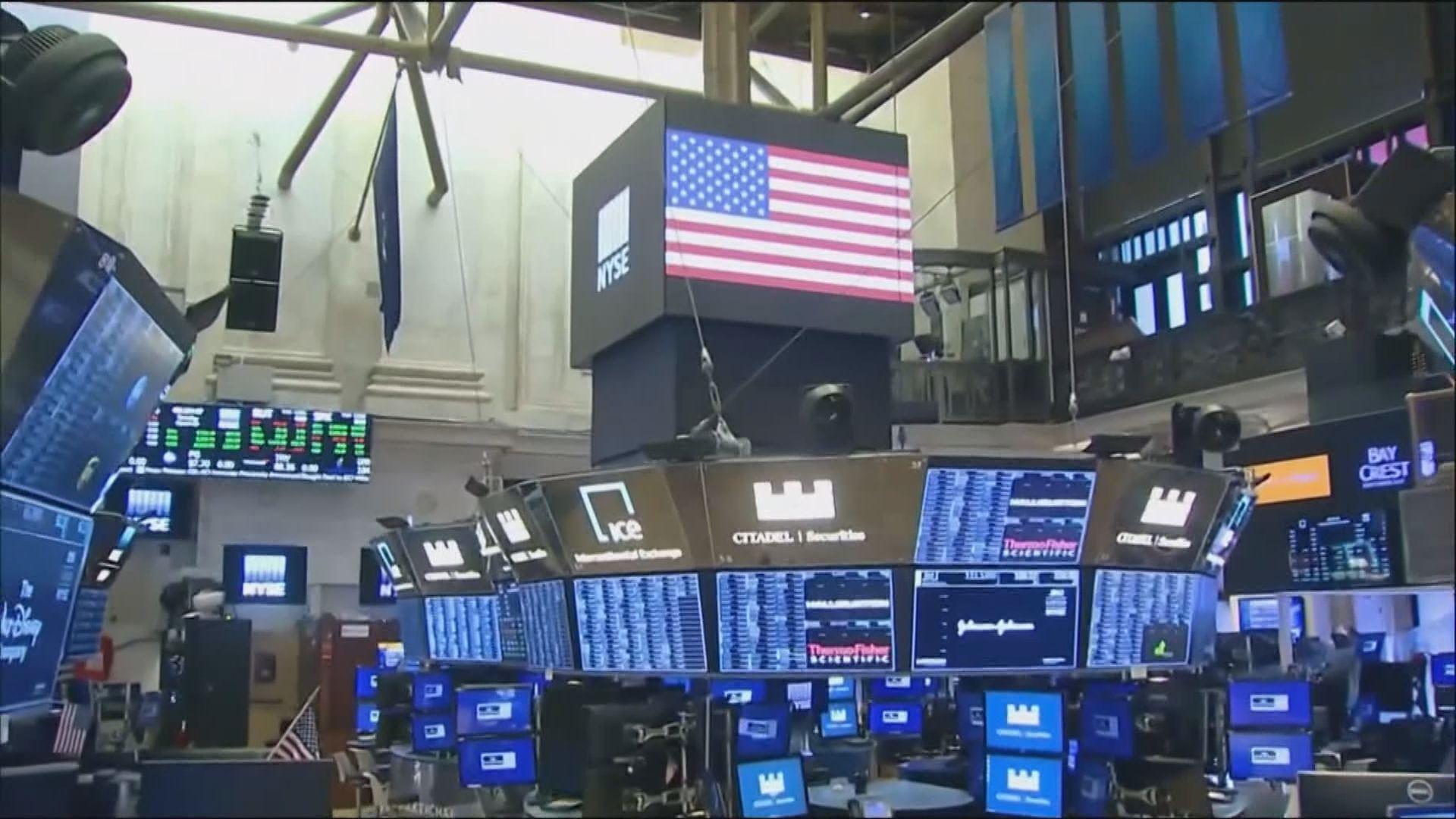 科技股升領標指及納指升 舊經濟股跌累道指跌