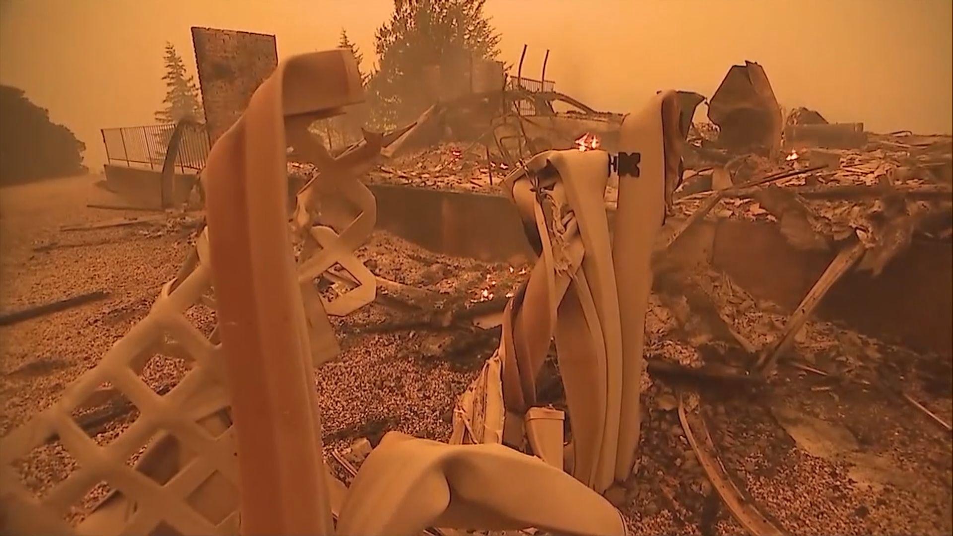 加州山火持續 民眾質疑撤離計劃失誤加劇死傷