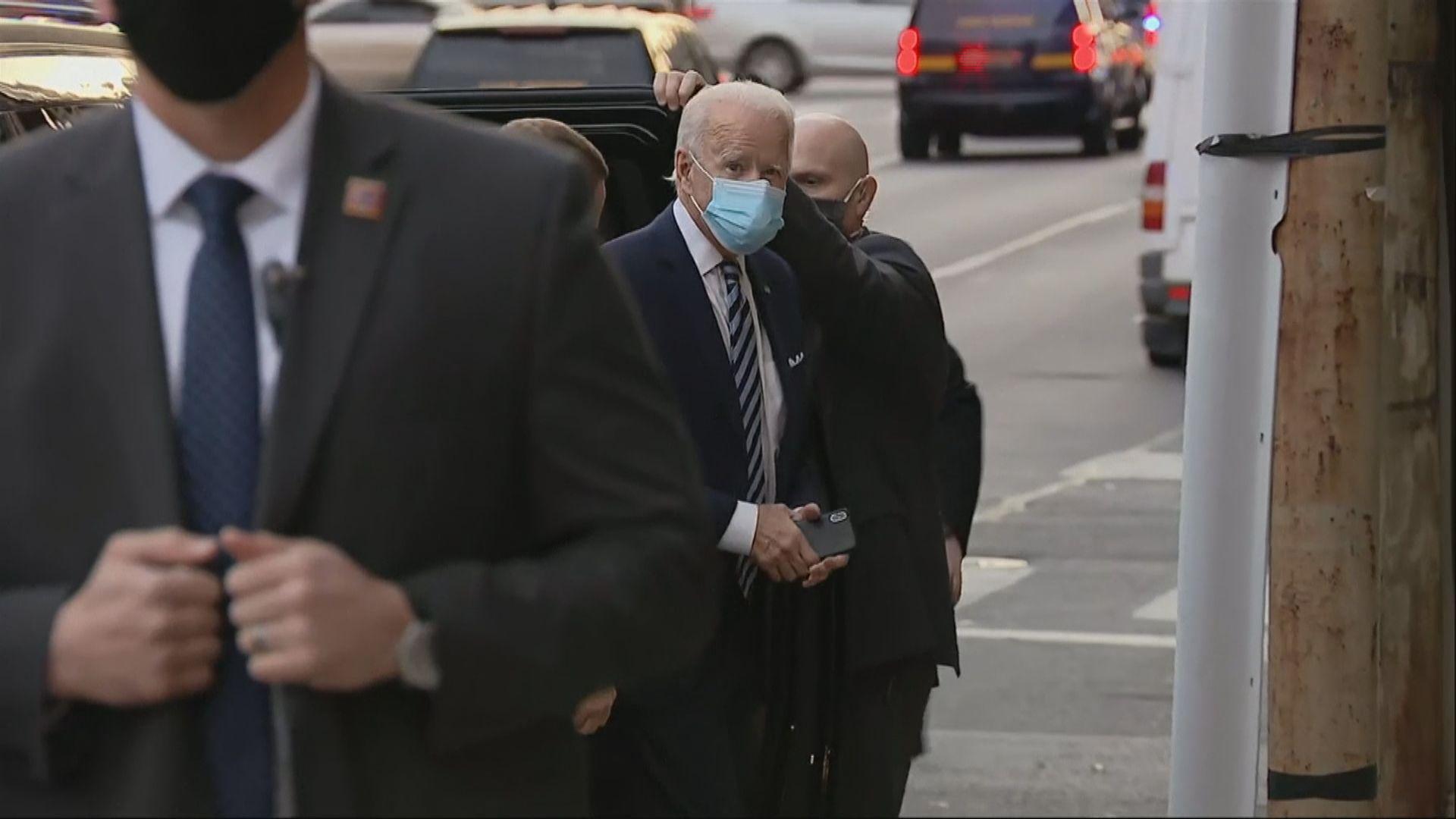 拜登:上任後將要求民眾戴口罩一百日抗疫