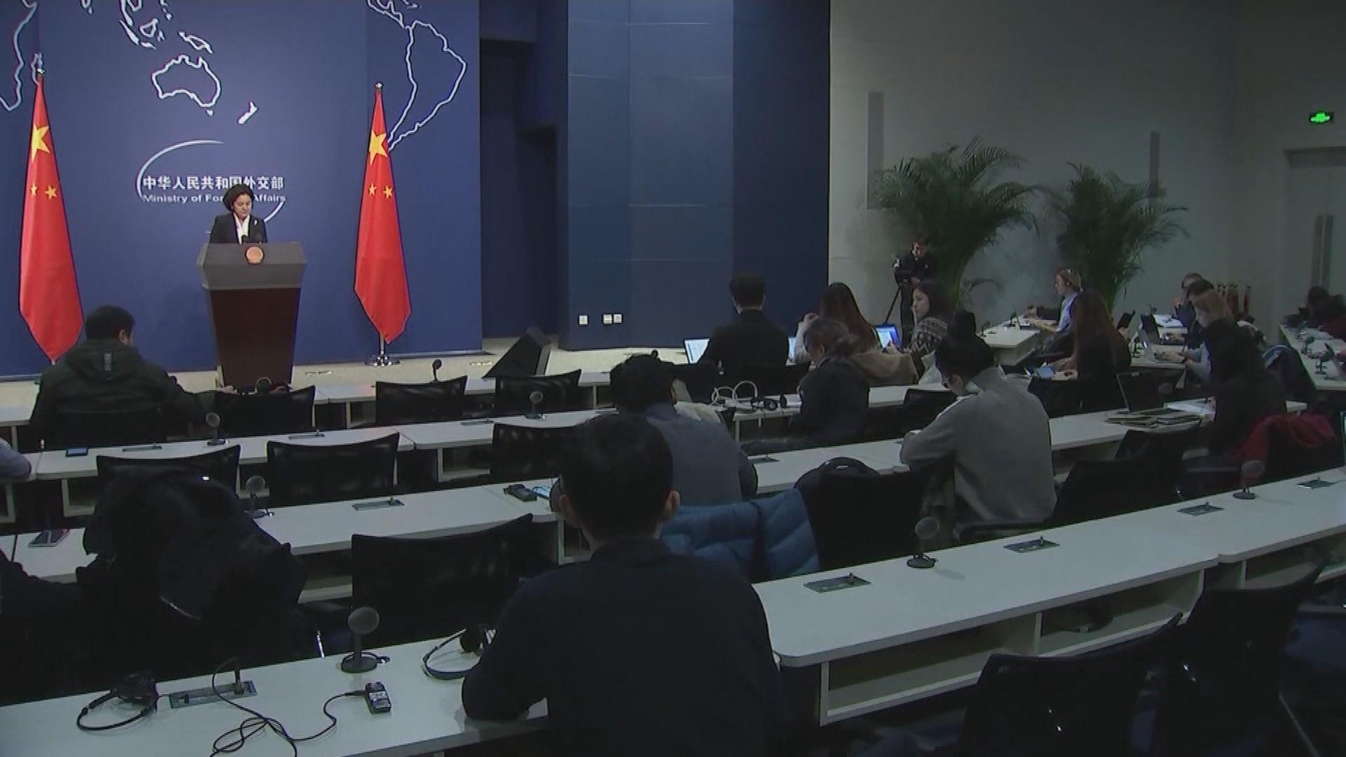 中國強烈譴責美眾議院通過涉疆法案