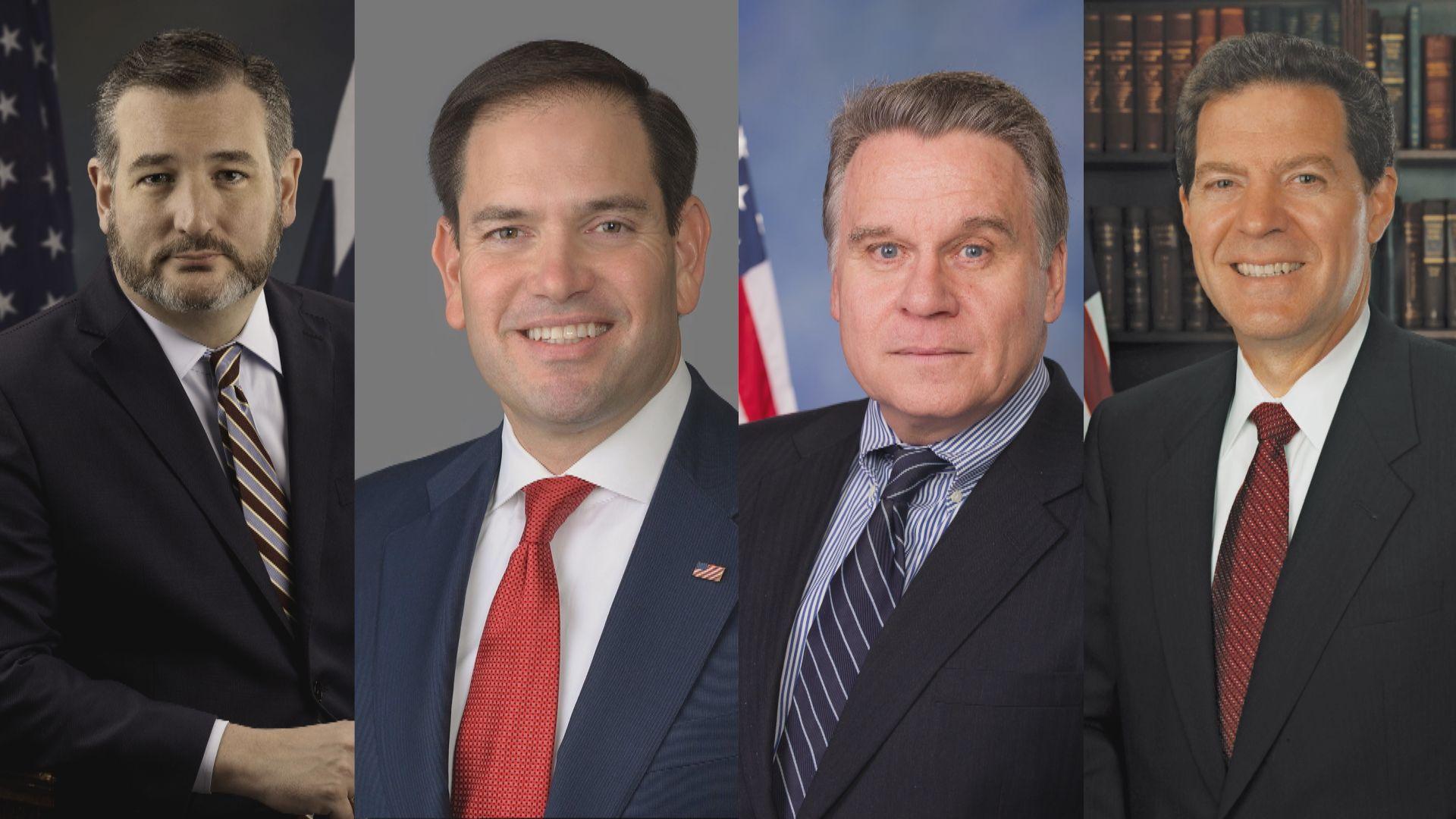 中方宣布制裁四名美國國會議員和官員