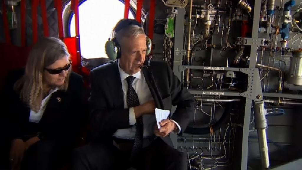 美防長馬蒂斯突然到訪阿富汗