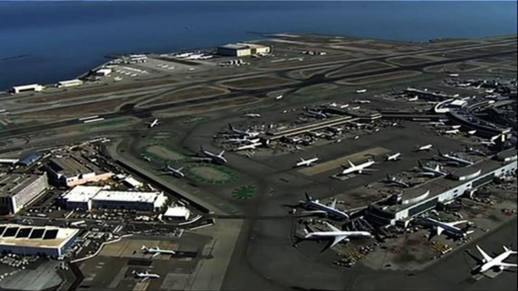 三藩市國際機場幾乎發生撞機事件