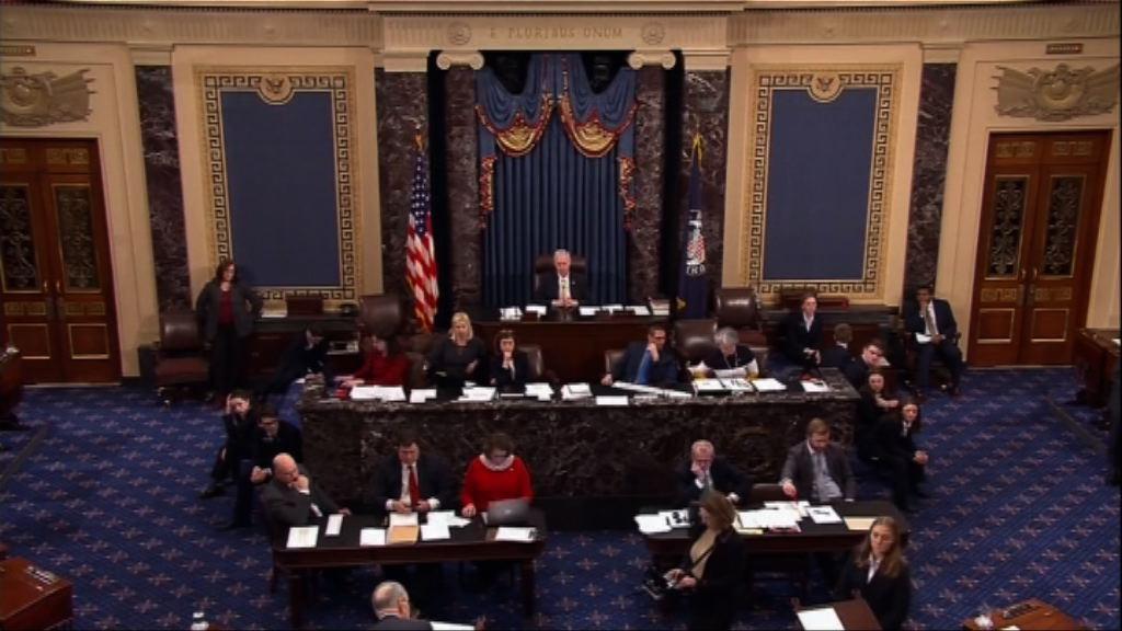 美參議院未能通過預算案