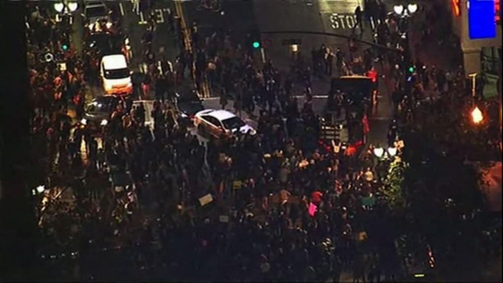 民主黨票倉爆發反特朗普示威