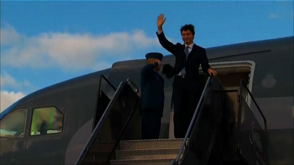 加國總理杜魯多訪美首晤特朗普