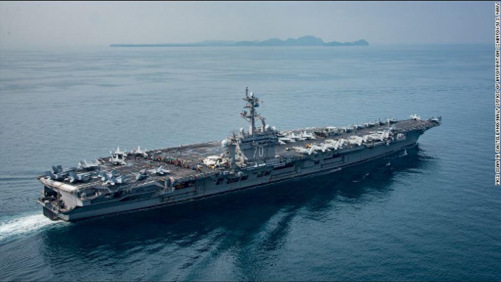 美國防官員料卡爾文森號下周抵日本海