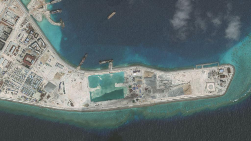 中國在南海建造存放導彈設施