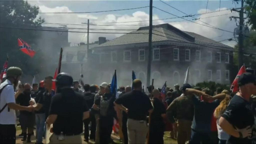 美國弗吉尼亞州白人主義者示威引發衝突