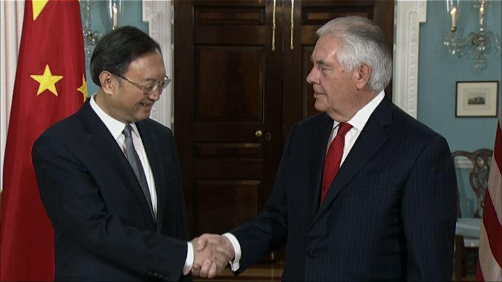 中美同意繼續向北韓施壓