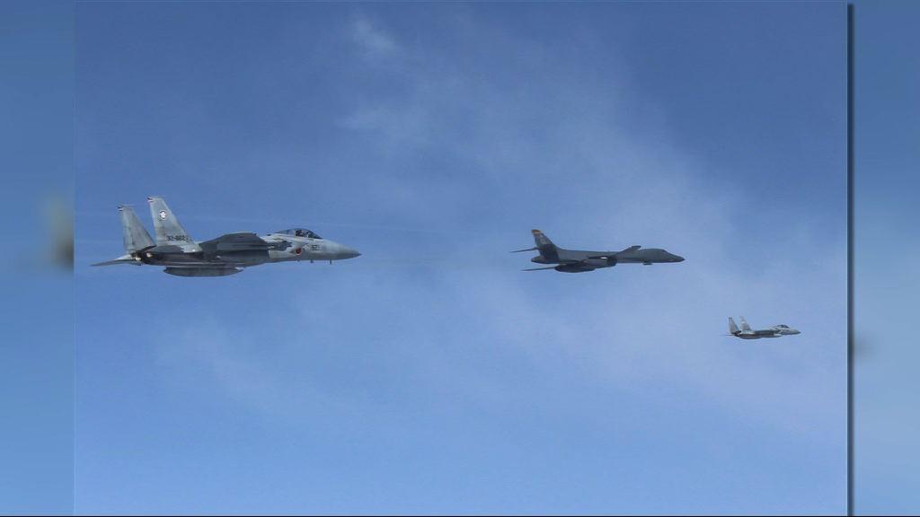 美軍機進入東海防空識別區遭警告