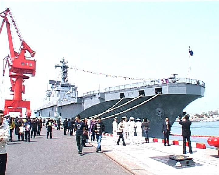美宣布不參加青島檢閱軍艦儀式