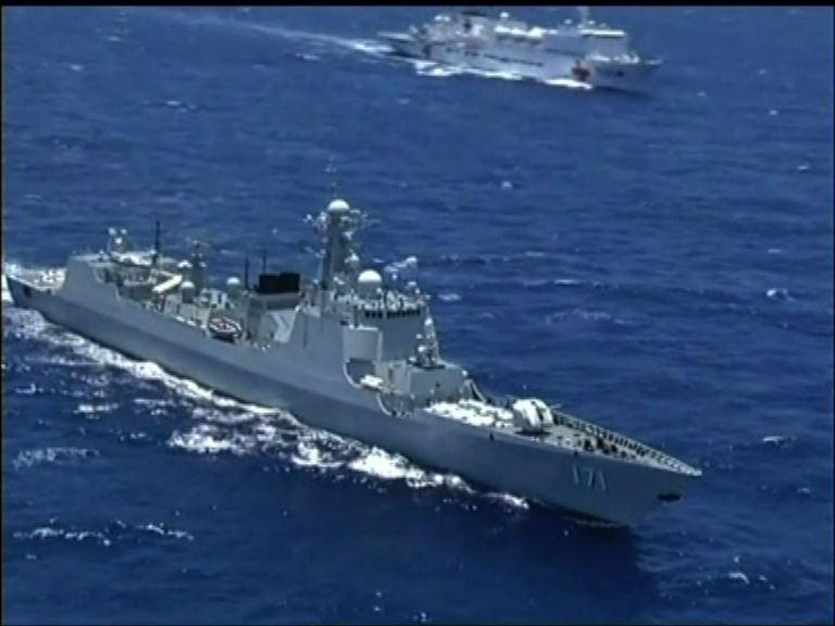 美國證實在白令海發現中國軍艦