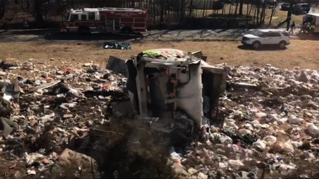 美國共和黨議員所乘列車撞垃圾車一死