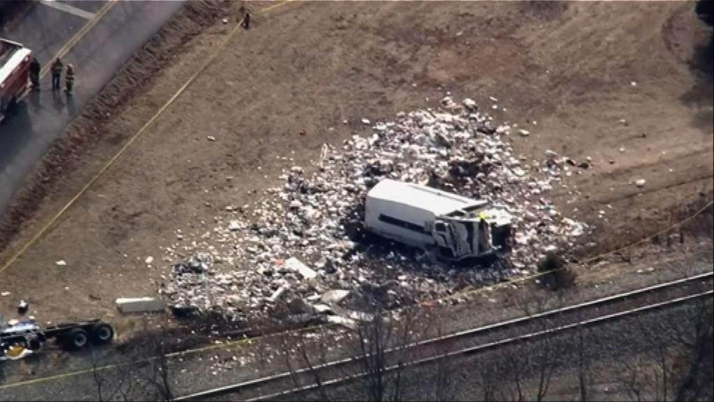 美共和黨議員所乘列車撞垃圾車一死五傷