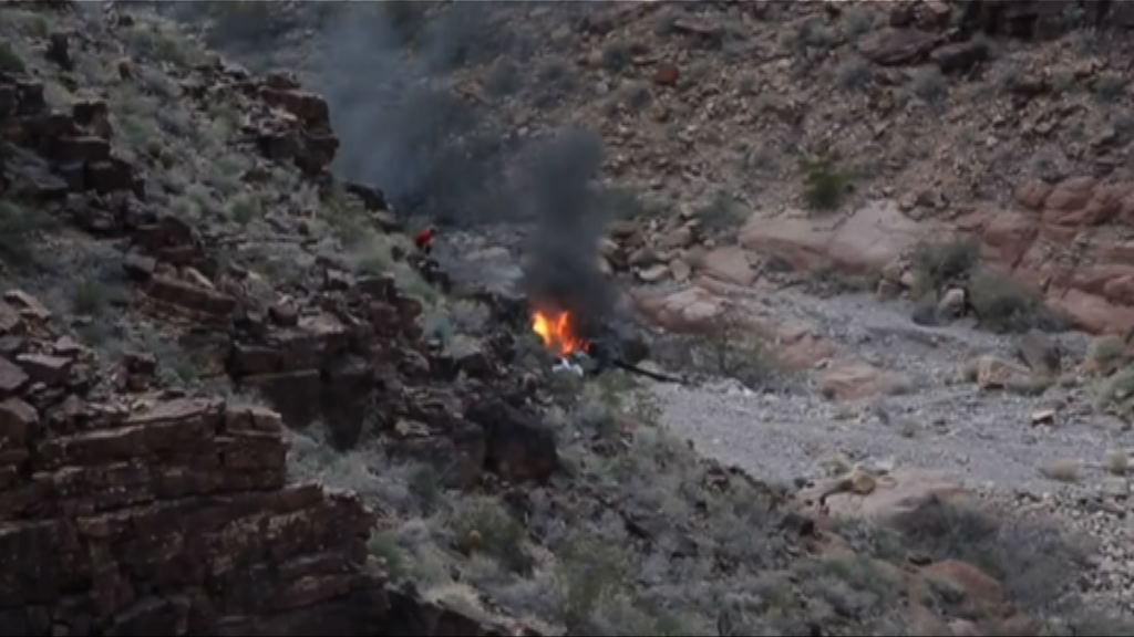 美國大峽谷觀光直升機墜毀 最少三死四傷