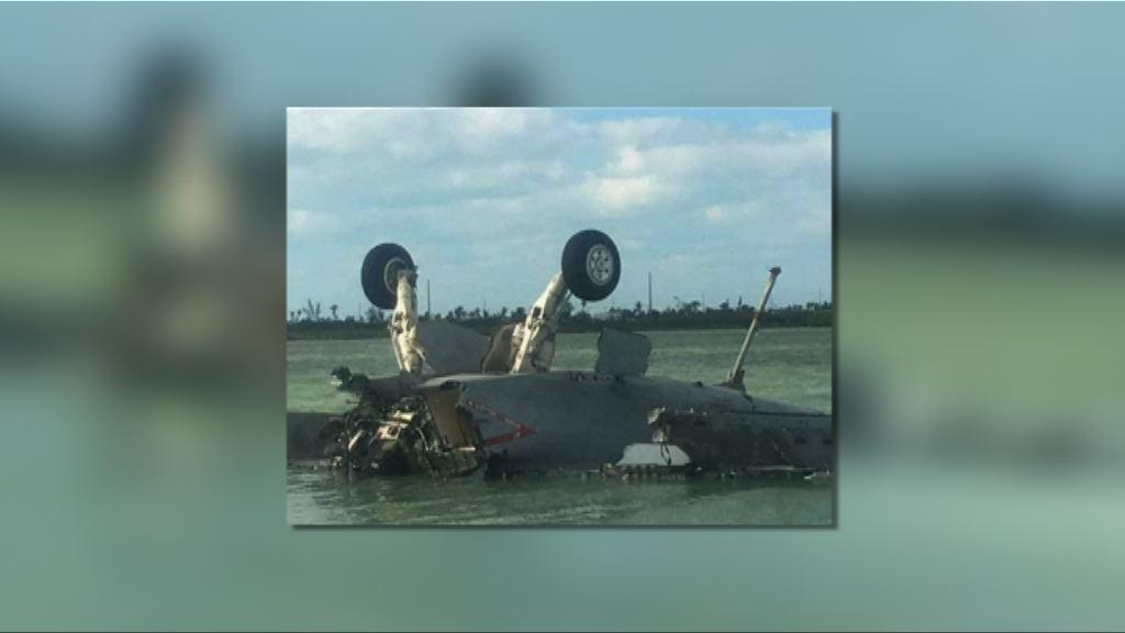 美軍F-18戰機墮海兩人死亡