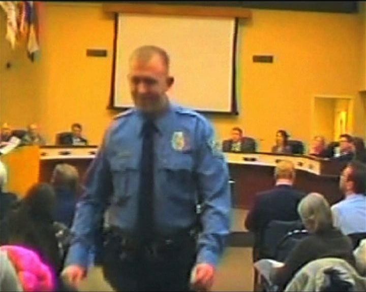 美國弗格森市槍殺黑人警員不被起訴