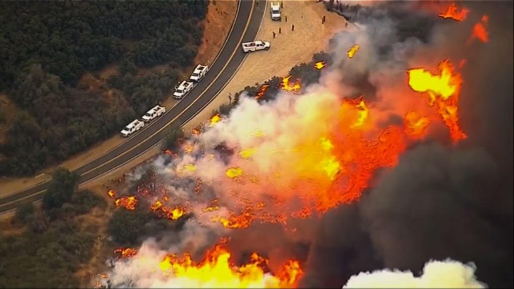 美國南加州山火持續 當局動用聯邦資源應對