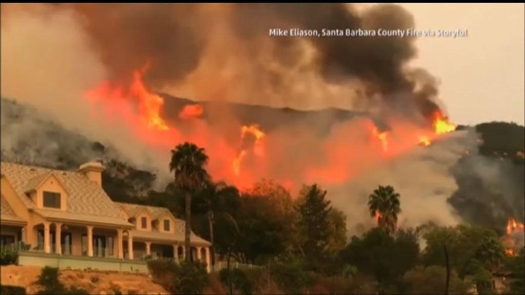 美國南加州山火持續近兩周仍未受控