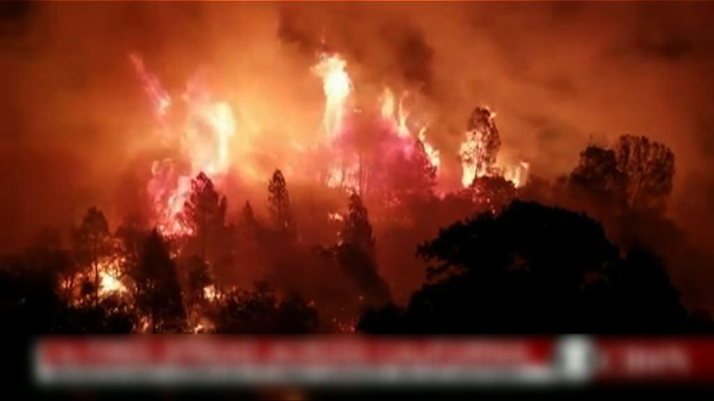 美國加州山火面積破歷史紀錄