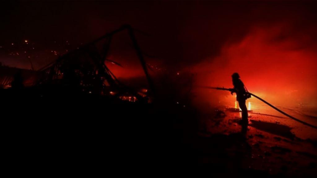 南加州山火仍未受控 至今最少六傷