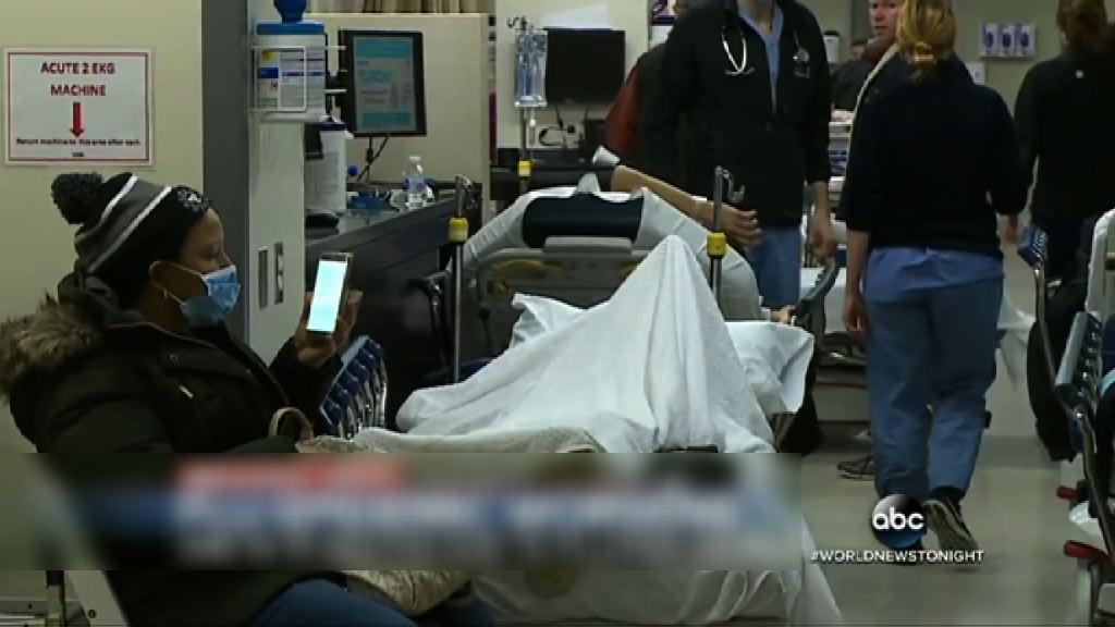 美國流感肆虐一周逾四千人死亡