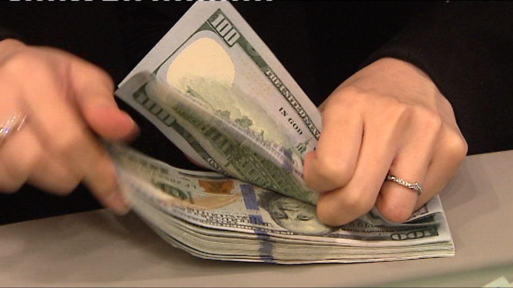 美元兌日圓曾見1個月高位